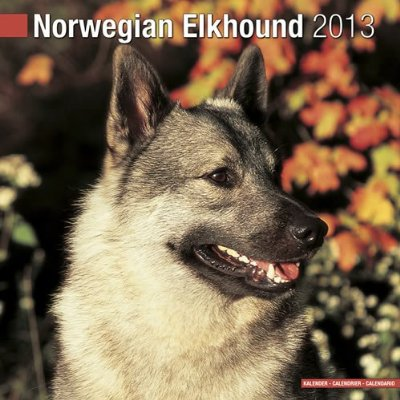 Petprints Norwegian Elkhound Calendar